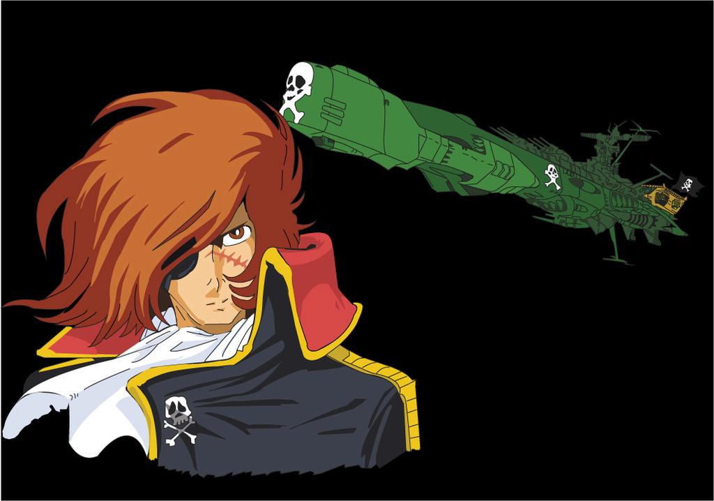 Albator / Captain Harlock : Fan-arts. - Page 39 Harloc10