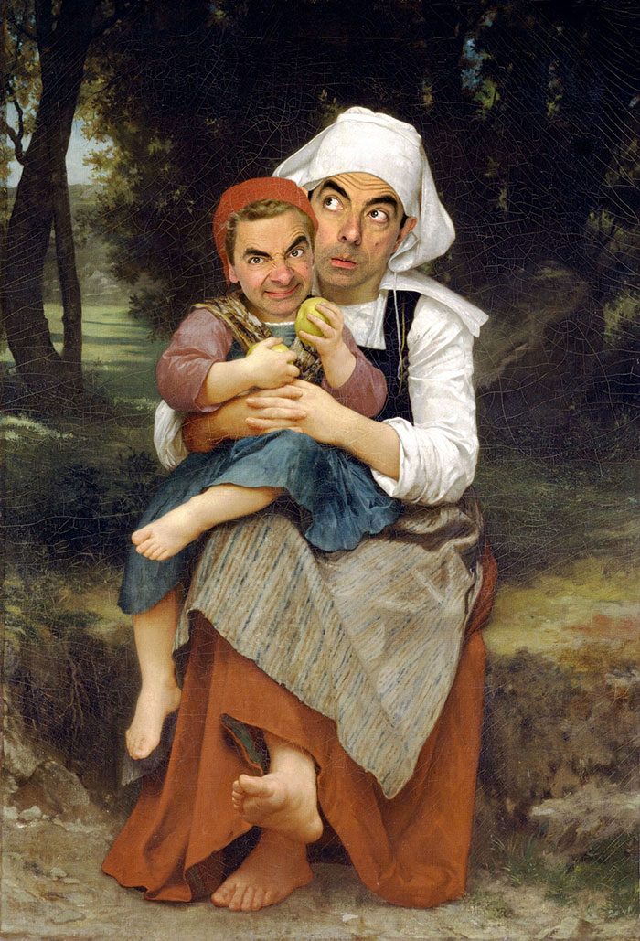 J'adore Mr. Bean Frere-10
