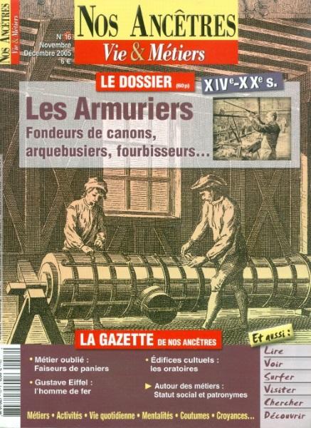 Nos Ancêtres. Vie & Métiers - martin Média Les_ar11