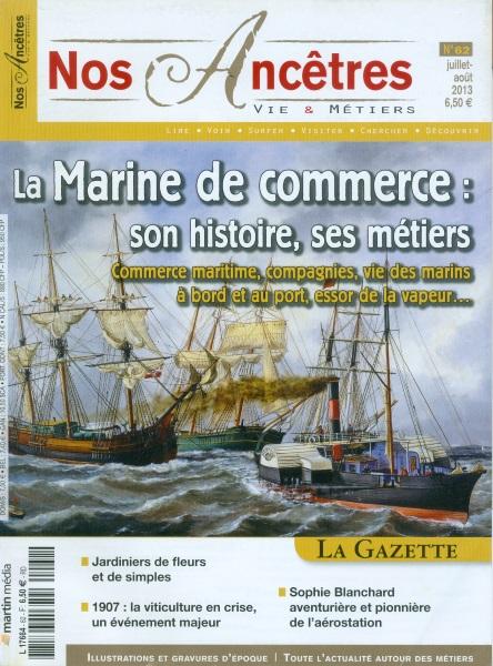 Nos Ancêtres. Vie & Métiers - martin Média Marine11