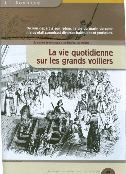 Nos Ancêtres. Vie & Métiers - martin Média Marine12