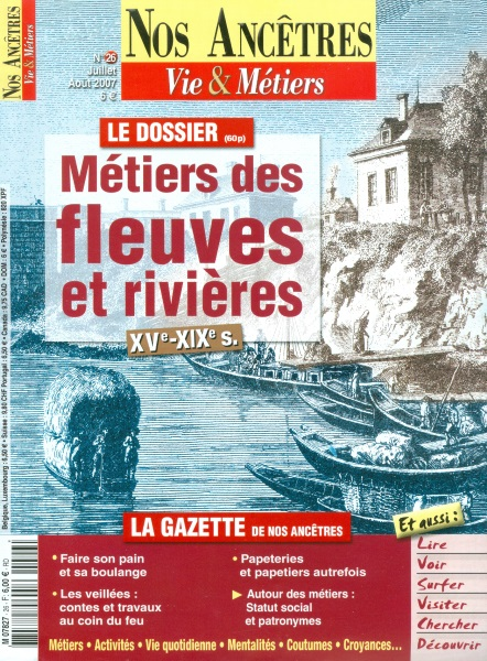 Nos Ancêtres. Vie & Métiers - martin Média Mytier10