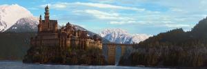 Castillo de Blancanieves y David