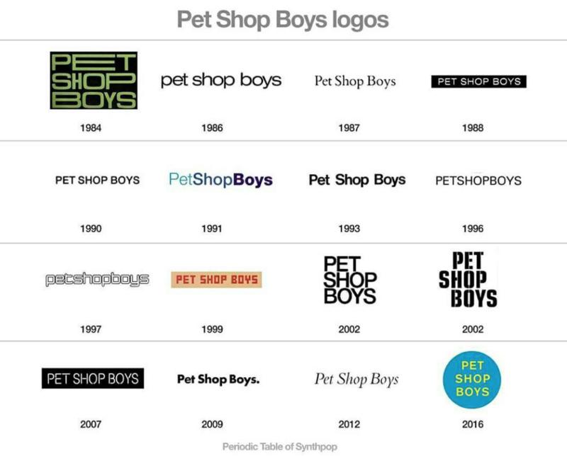 le logo pet shop boys au fil des années ... Captur10