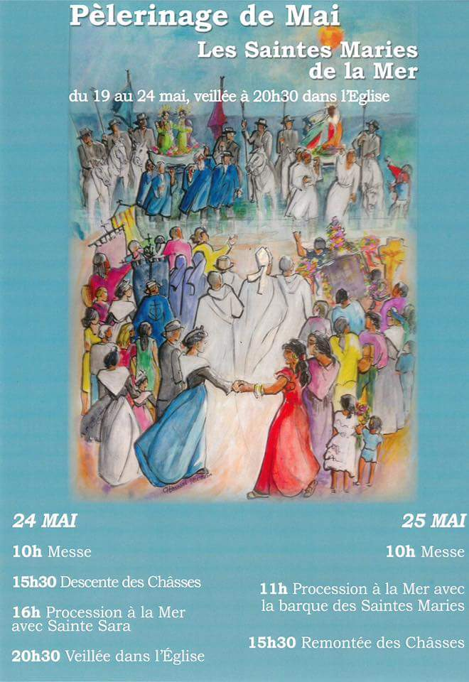 Pèlerinage des Saintes Maries de la mer 2017 Fb_img33
