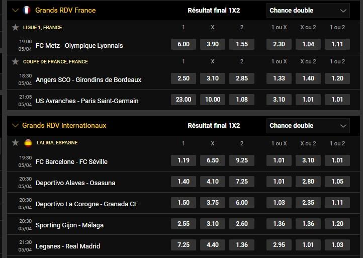 Grands RDV internationaux et Français de Football du 05/04   P11
