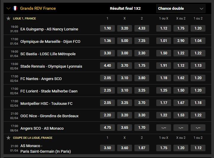Grands RDV internationaux et Français de Football du 30/03    Pbw110