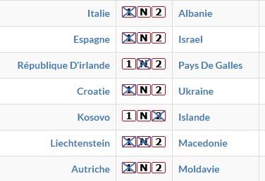 Grands RDV internationaux et Français de Football du 23/03  Pmu125