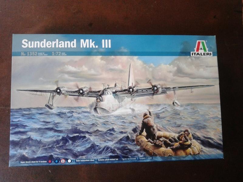 Sunderland MKIII Italeri au 1/72 Img_2071