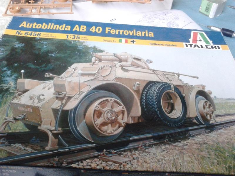 Matériel italien autoblinda AB40 au 1/35 italeri Img_2206