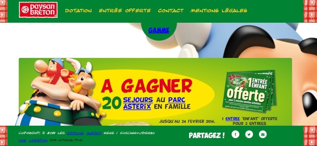 gagner des places pour le parc avec Paysan breton Paysan10