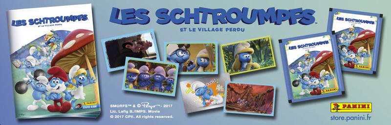 """Panini """"les Schtroumpfs et le village perdu"""" Sch17-11"""