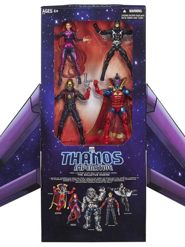 "SDCC 2014 Hasbro 6"" Marvel Legends Thanos Imperative Set 2014_s10"