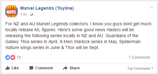 Good news. Hasbro ML releases for AU/NZ in 2017 Mlau2010
