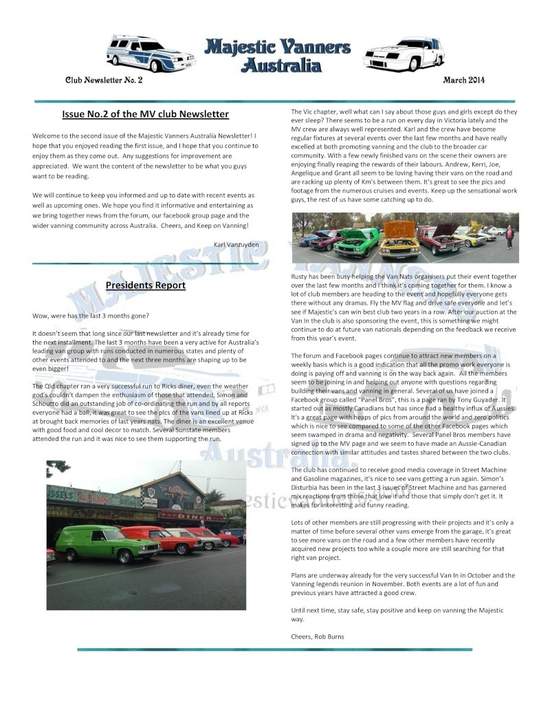 Majestic Vanners Newsletter No.2 March 2014 Mv_new16