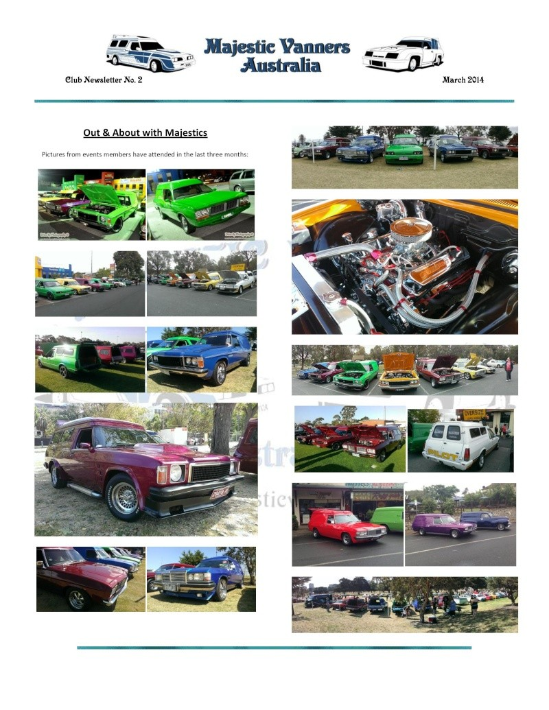 Majestic Vanners Newsletter No.2 March 2014 Mv_new23