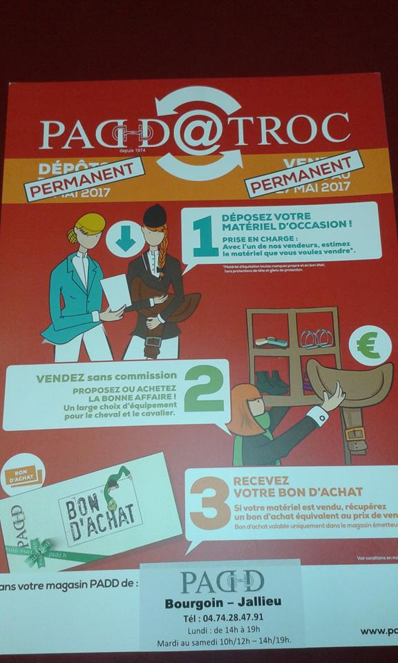 TROC PADD permanent Bourgoin 17629710