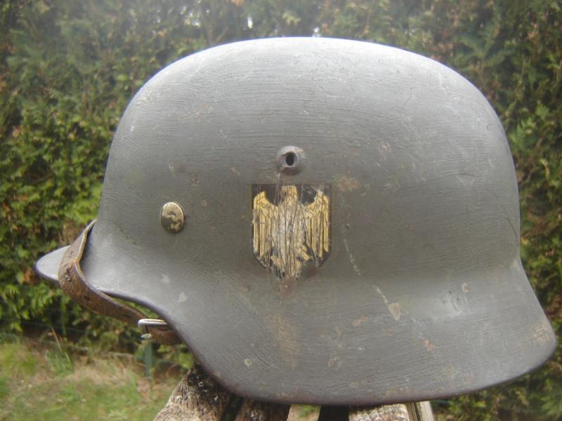 M35 (complet) - 1 insigne (reconditionné terrain) 00610
