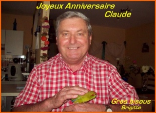 Bon Anniversaire, Claude (kiwi) Claude10