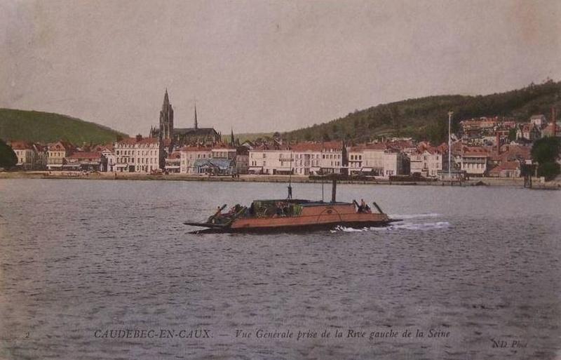 Navigation fluviale: les bacs de Seine Numero10