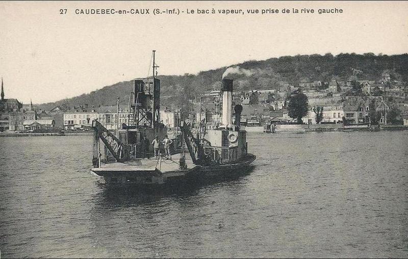 Navigation fluviale: les bacs de Seine Numero11
