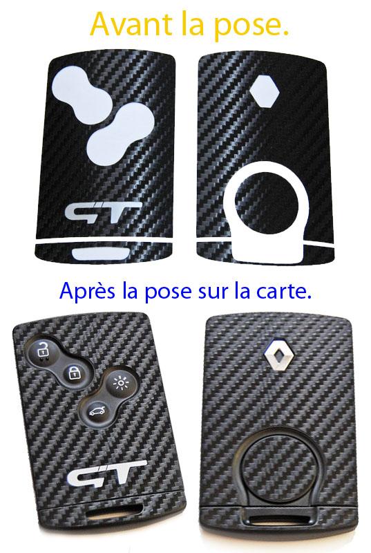 STICKERS carbone pour CLIO IV  Carte_21