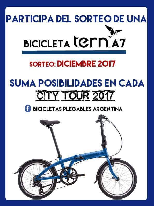 TERN CITY TOUR desde CANAGLIA LAFINUR 19059910