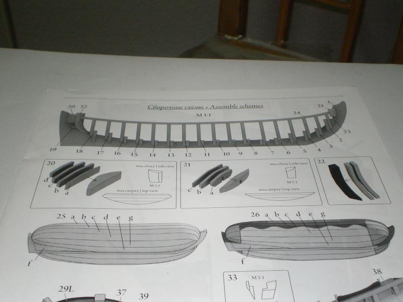 Baubericht Boot des Zar Peter der Grosse FORTUNA (1689) 1:40 Baupla10