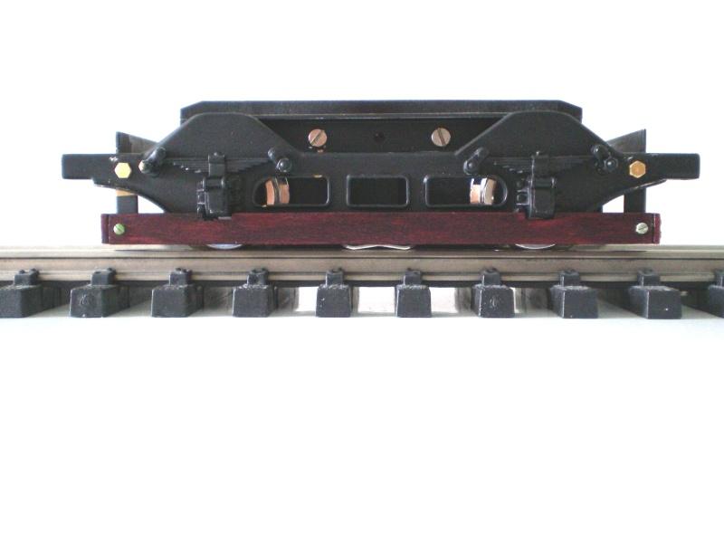Straßenbahntriebwagen mit Sommerwagen entsteht Maßstab 1:24 Fahrwe10
