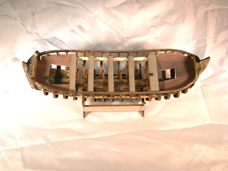 Baubericht Boot des Zar Peter der Grosse FORTUNA (1689) 1:40 Fotobi24