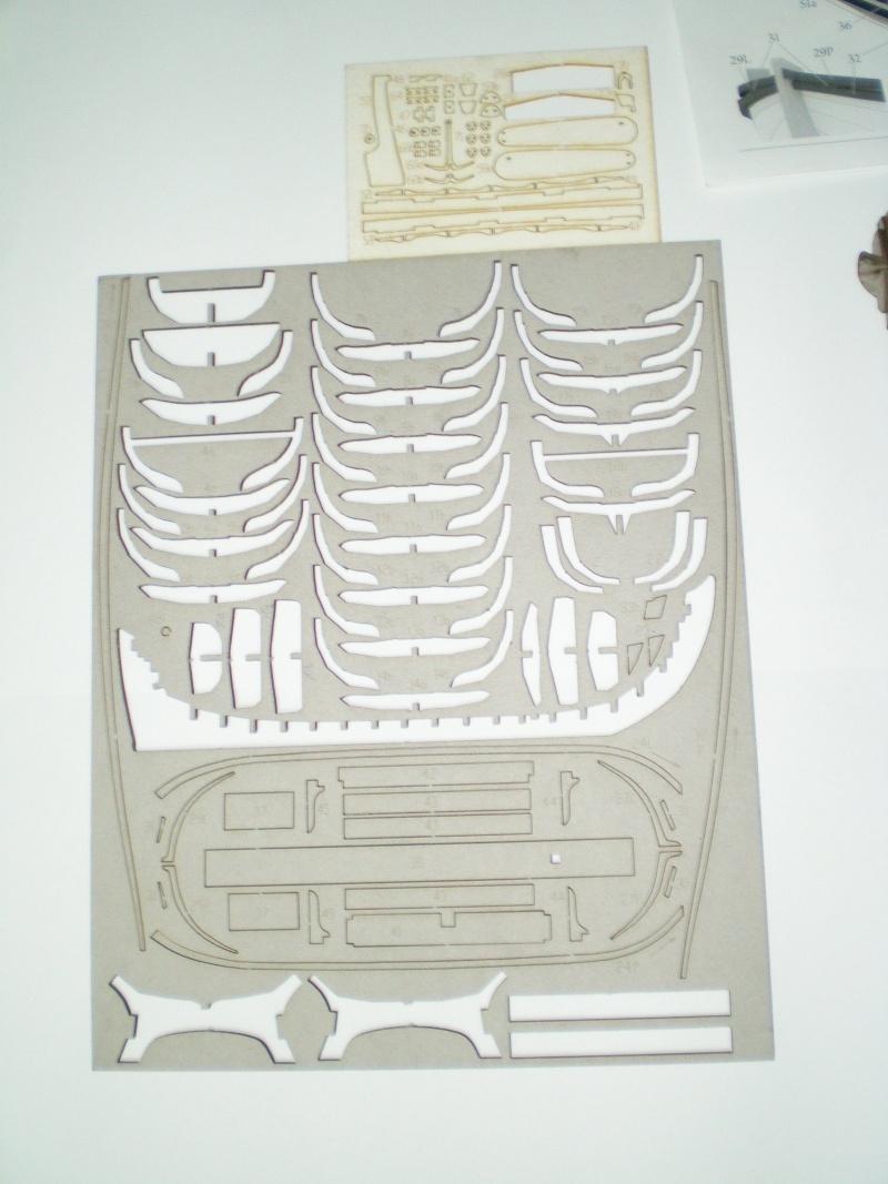 Baubericht Boot des Zar Peter der Grosse FORTUNA (1689) 1:40 Karton10