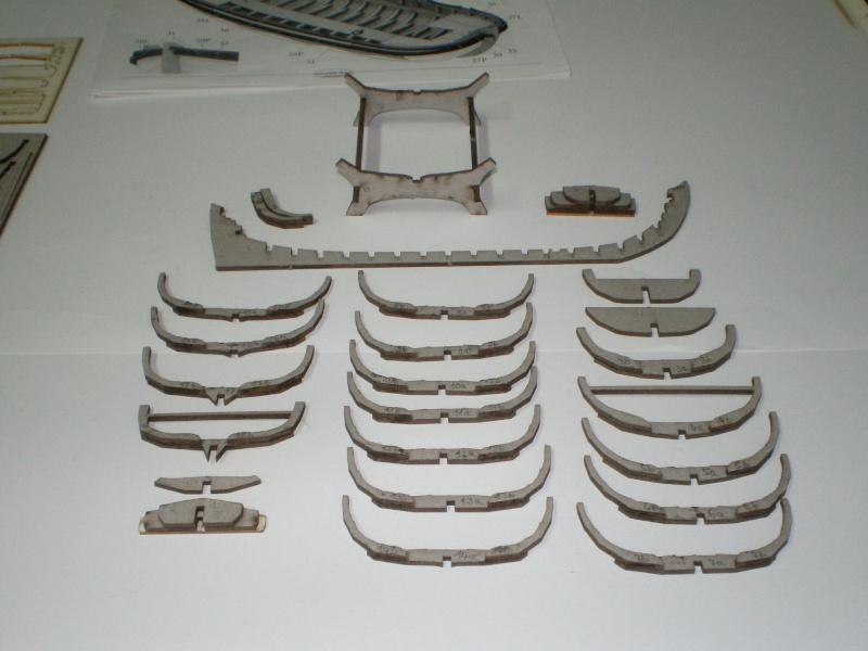 Baubericht Boot des Zar Peter der Grosse FORTUNA (1689) 1:40 Spante10