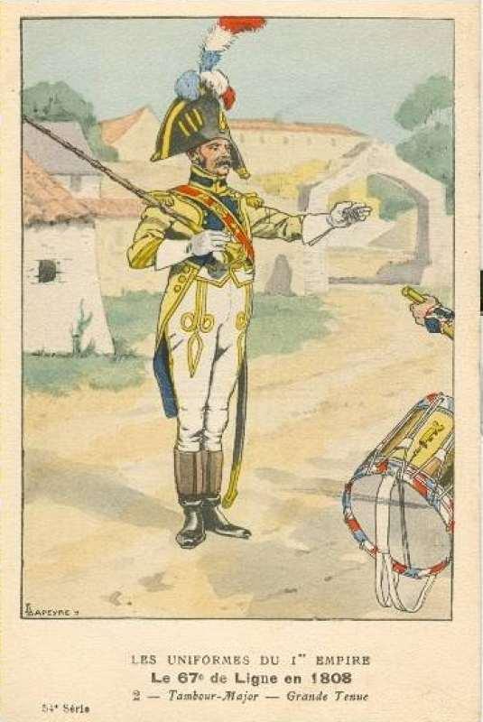 Tambour Major 67ème régiment  054_2_10