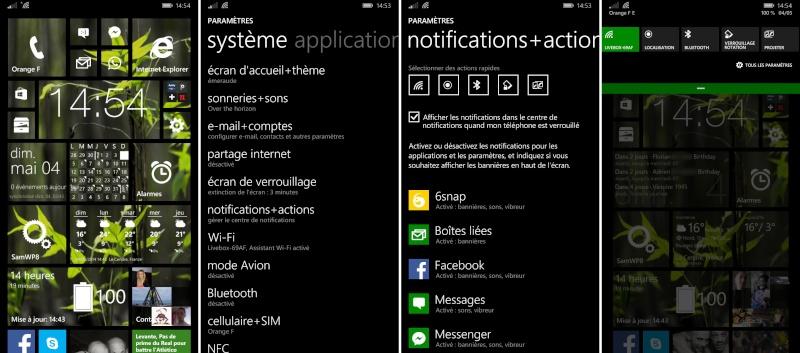 [ASTUCE][ATIV S] Avoir 5 items dans la barre de notifications 5itemd10