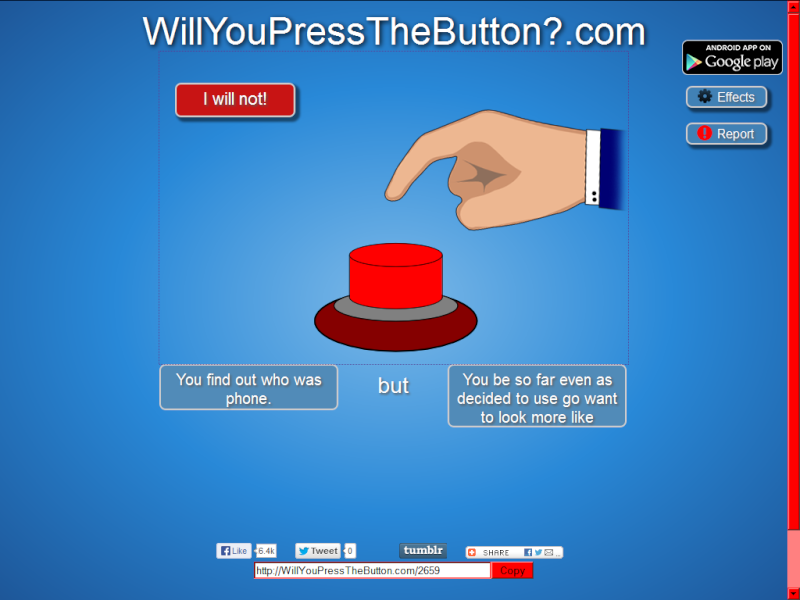 will you press the button? Untitl10