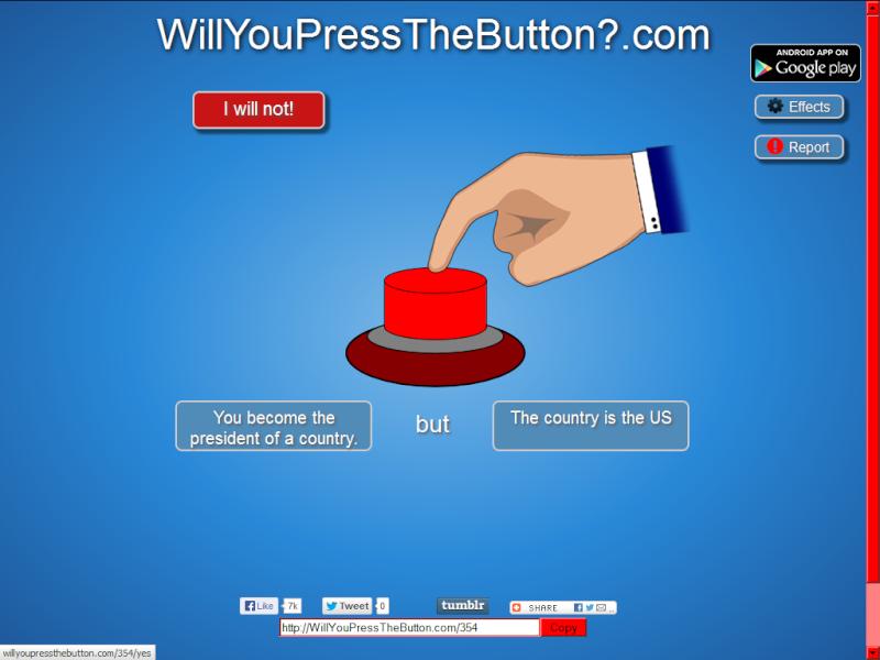 will you press the button? Untitl11