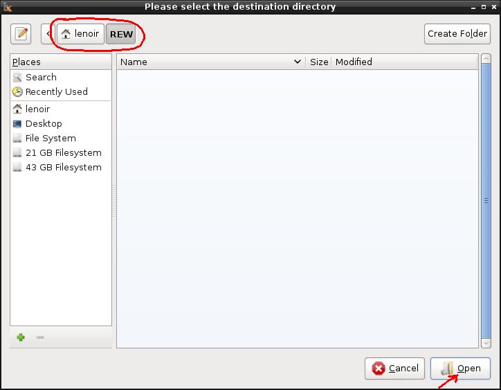 Installation de REW sur Linux/Debian 02e-ex12