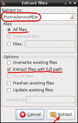 Installation de REW sur Linux/Debian 02f-ex10