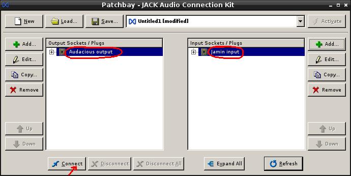 Install Jack + Zita-lrx + Jamin + Audacious sur Linux/Debian 09-con10