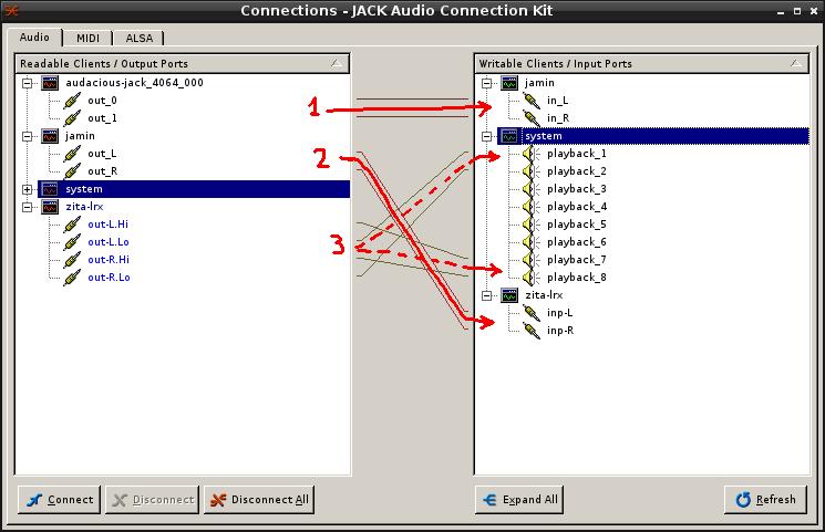 Install Jack + Zita-lrx + Jamin + Audacious sur Linux/Debian 13-fin10
