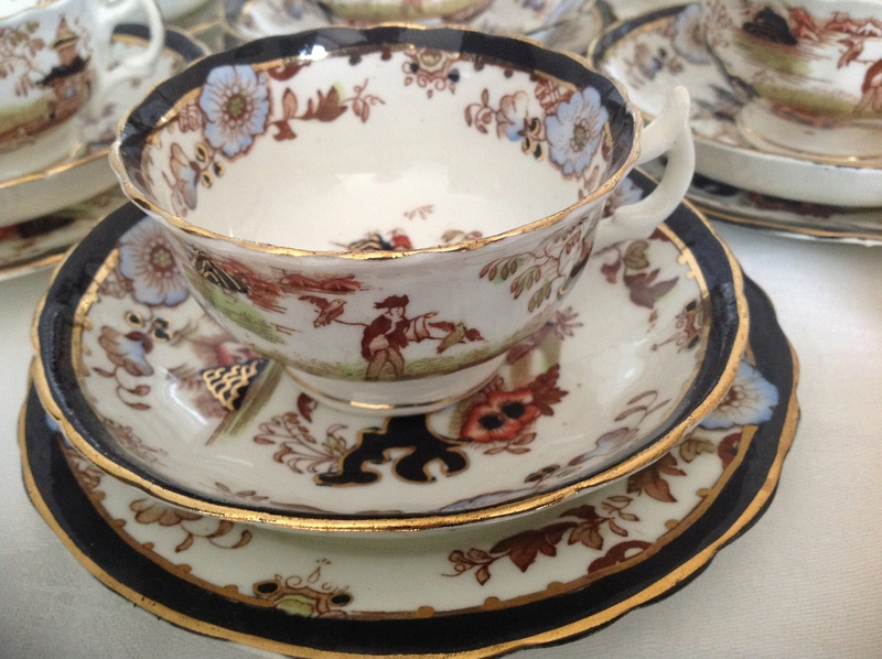 19thC Staffordshire Cup & Saucer  Image18