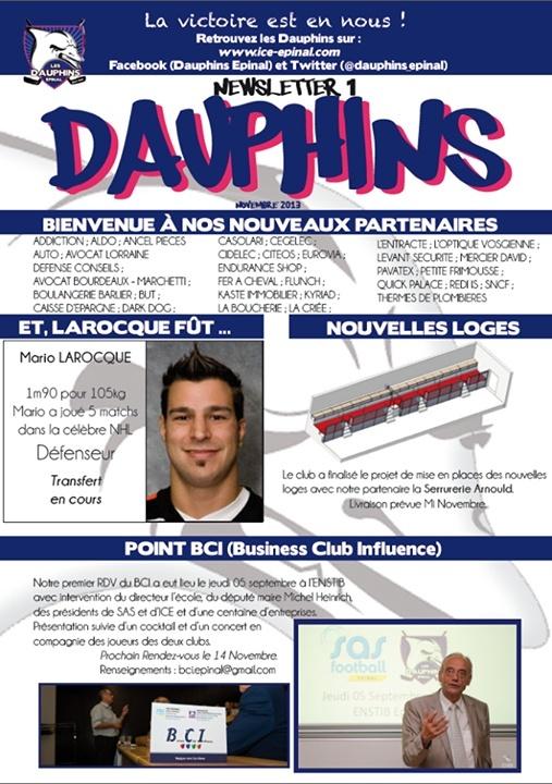 Newsletter des Dauphins 60064910