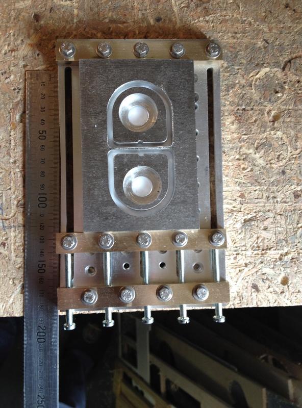 Etau de fraisage pour CNC Etau110