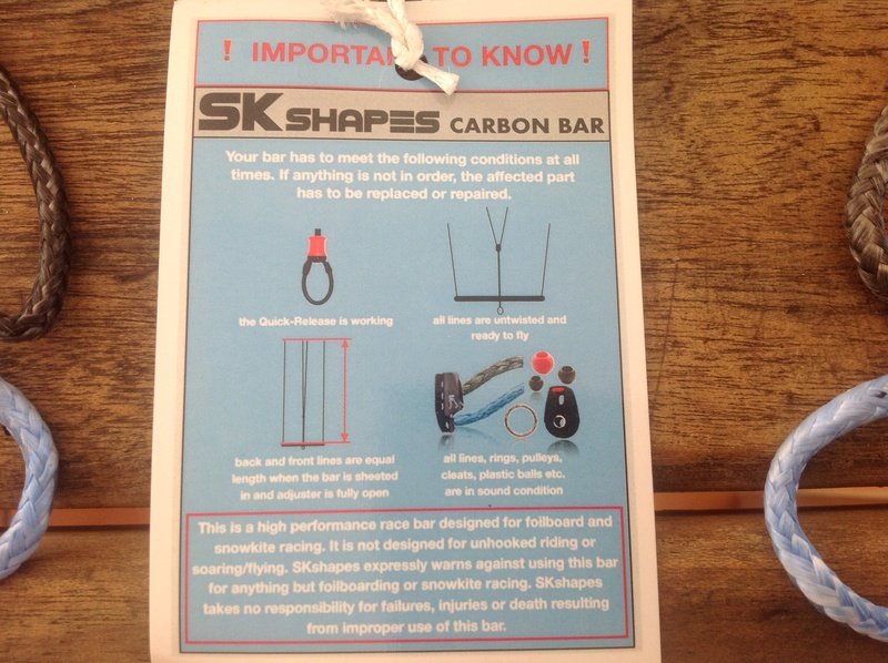 Ma barre carbone Sk Shapes Image62
