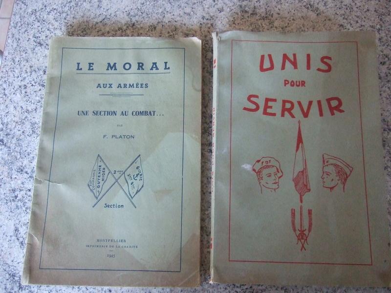 2 livres de 1945 et 1946 6eme RIC compagnie Guyenne - ALPINS3 ( terminé) Dscf5660