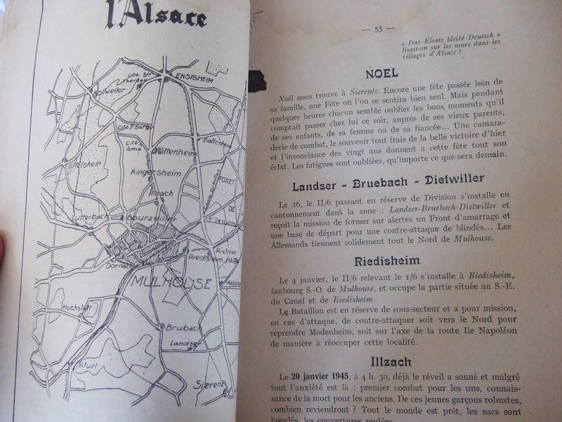 2 livres de 1945 et 1946 6eme RIC compagnie Guyenne - ALPINS3 ( terminé) Dscf5661