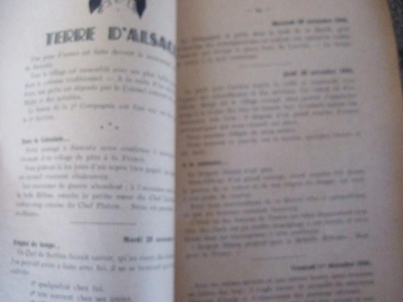 2 livres de 1945 et 1946 6eme RIC compagnie Guyenne - ALPINS3 ( terminé) Dscf5663