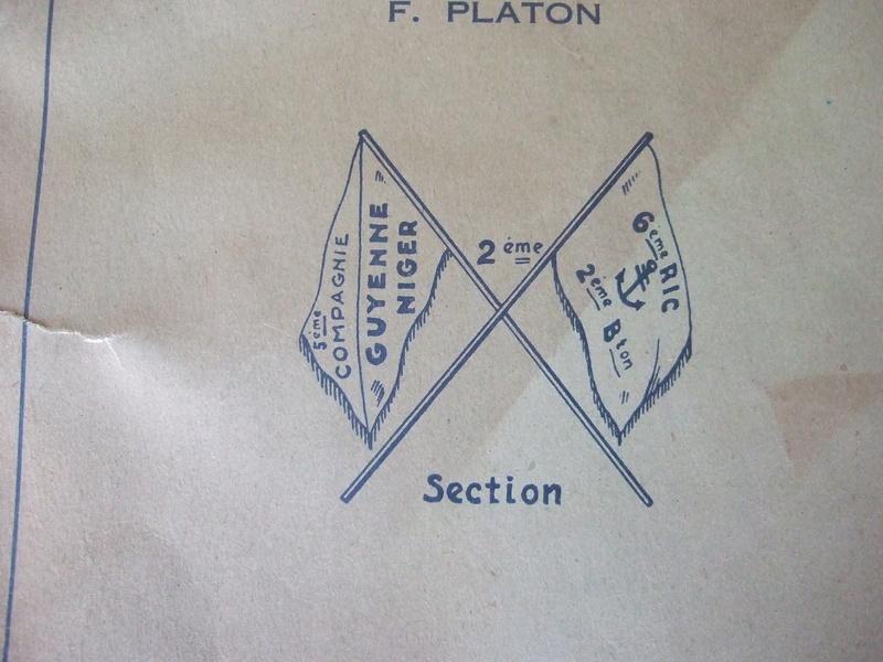 2 livres de 1945 et 1946 6eme RIC compagnie Guyenne - ALPINS3 ( terminé) Dscf5664