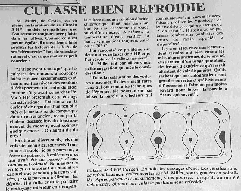 Culasse , bloc - Passages d' eau - Page 6 Culass10