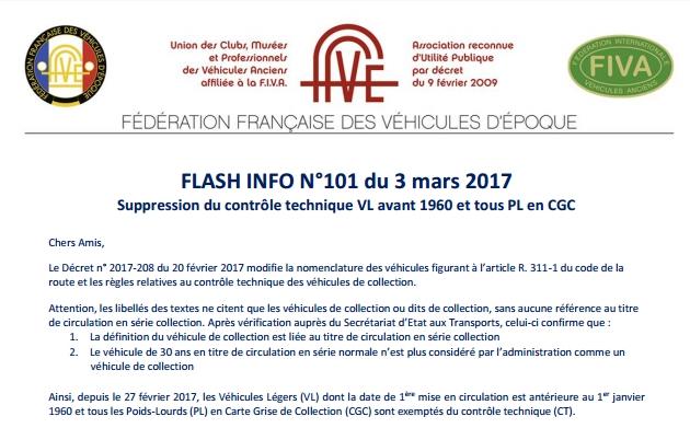 INFORMATION IMPORTANTE Vehicu10